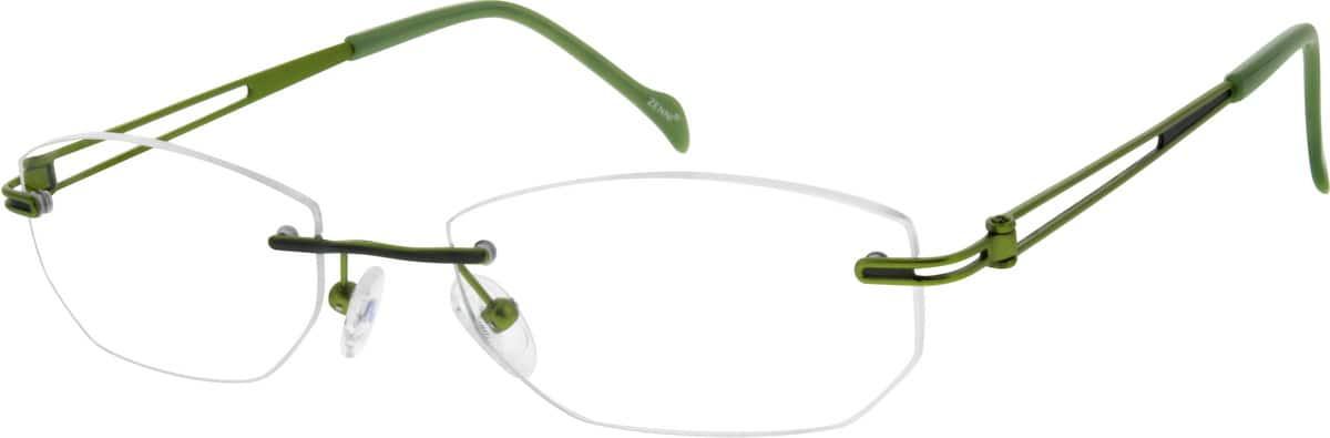 WomenRimlessTitaniumEyeglasses #133430