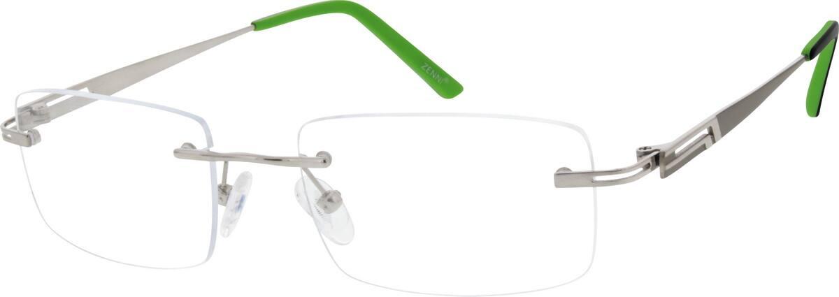 MenRimlessTitaniumEyeglasses #133514