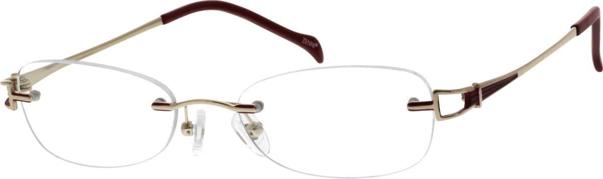 WomenRimlessTitaniumEyeglasses #134014