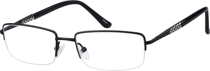 mens-half-rim-titanium-rectangle-eyeglass-frames-134321
