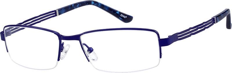 MenHalf RimTitaniumEyeglasses #134415