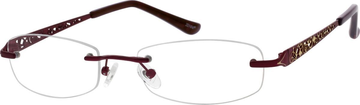 womens-rimless-titanium-eyeglass-frames-134518