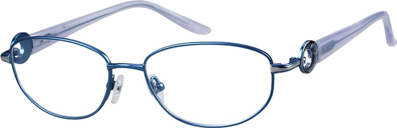 Women Full Rim Titanium Eyeglasses #134618