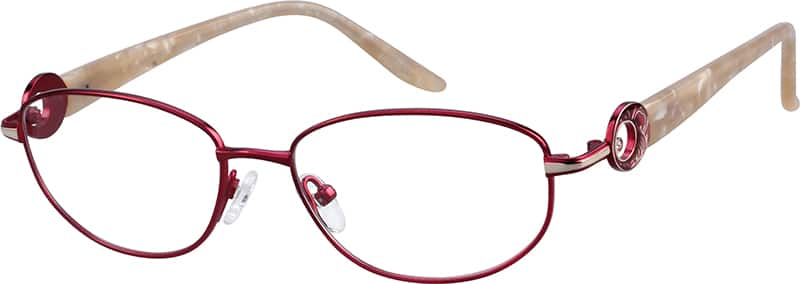 womens-full-rim-mixed-materials-oval-eyeglass-frames-134618