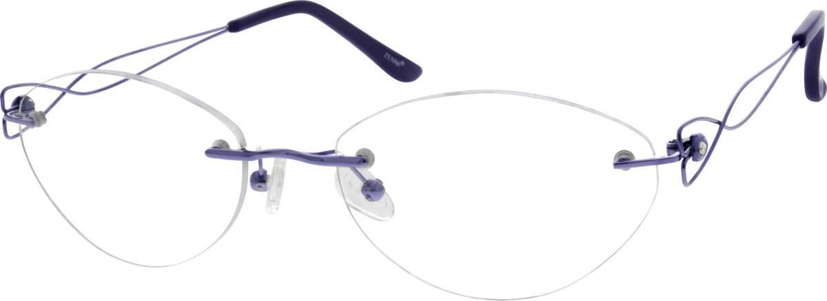 womens-rimless-titanium-eyeglass-frames-134917