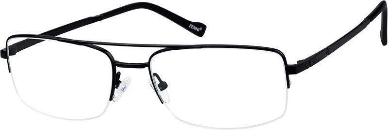 MenHalf RimTitaniumEyeglasses #135511