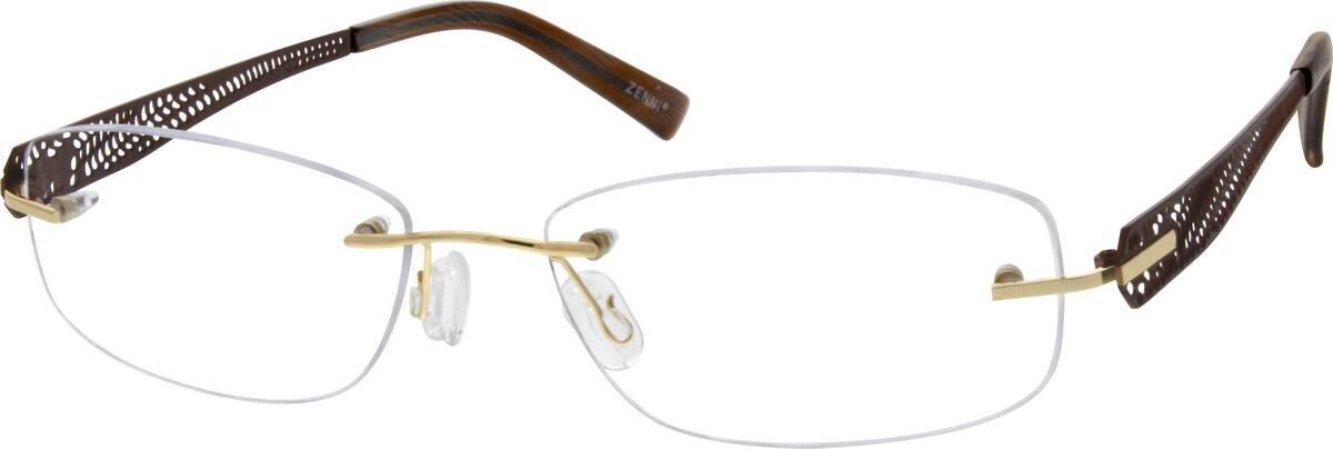 unisex-rimless-titanium-eyeglass-frames-135814