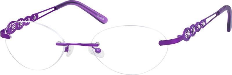 womens-rimless-titanium-eyeglass-frames-136217