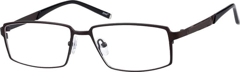 Titanium Rectangle Eyeglasses