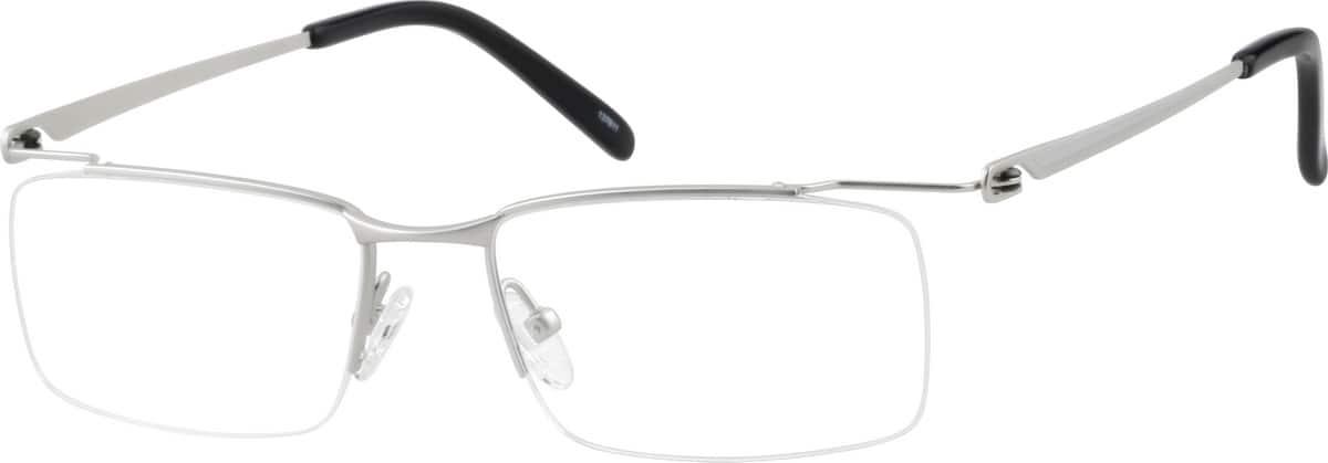 UnisexHalf RimTitaniumEyeglasses #137621