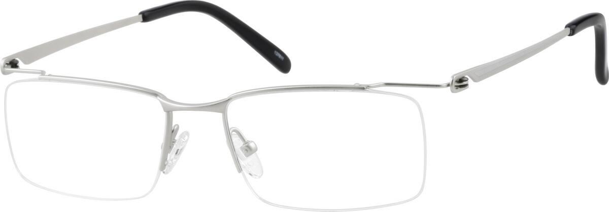 halfrim-titanium-rectangle-eyeglass-frames-137611