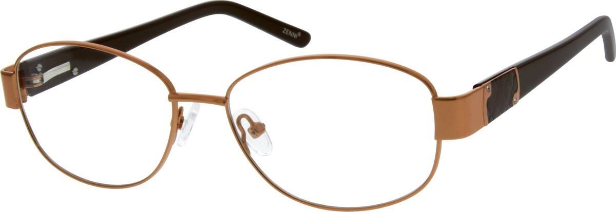WomenFull RimMixed MaterialsEyeglasses #140118