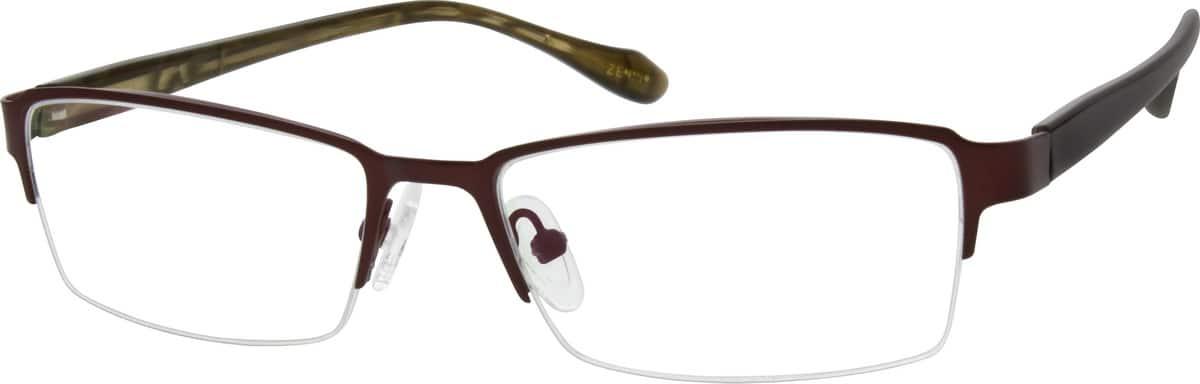 MenHalf RimMixed MaterialsEyeglasses #140815