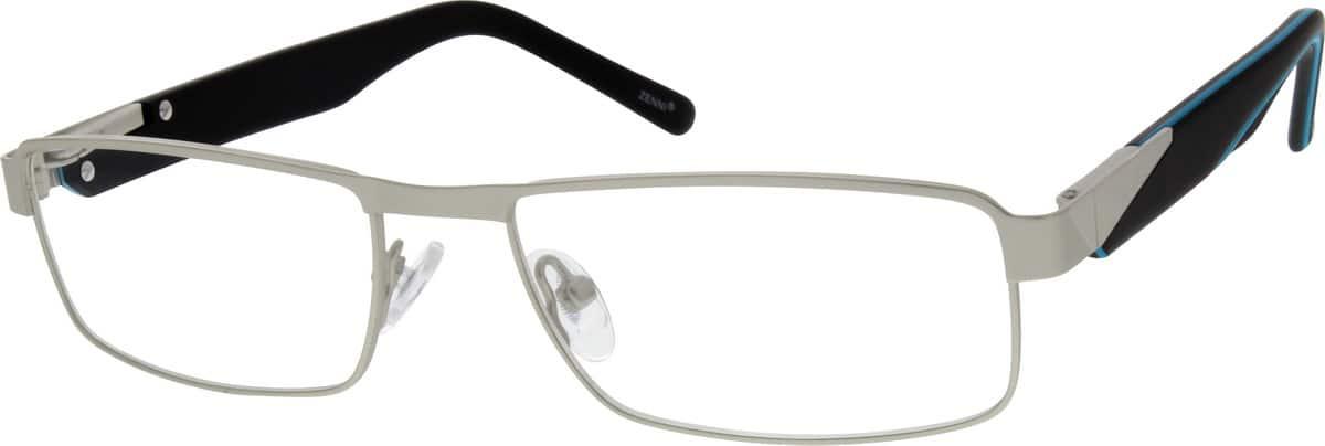 MenFull RimMixed MaterialsEyeglasses #141212