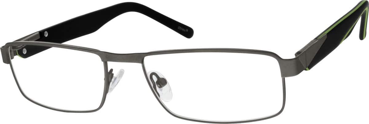 MenFull RimMixed MaterialsEyeglasses #141211
