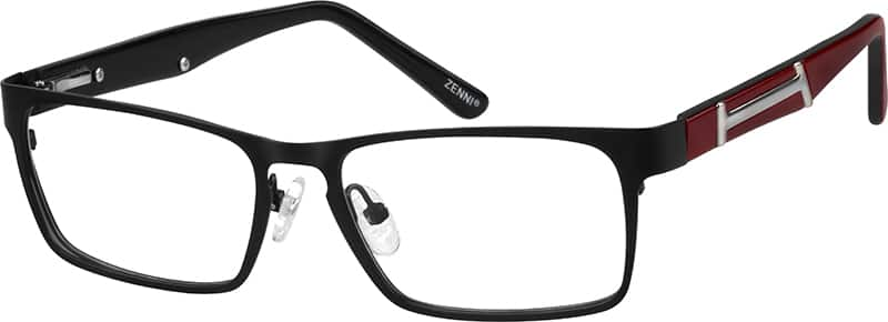 Women Full Rim Mixed Materials Eyeglasses #141615