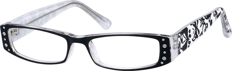 Women Full Rim Acetate/Plastic Eyeglasses #14233021