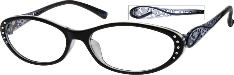 Women Full Rim Acetate/Plastic Eyeglasses #14259221