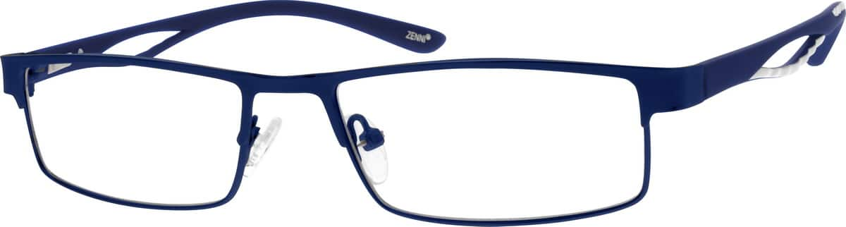 Men Full Rim Mixed Materials Eyeglasses #142712