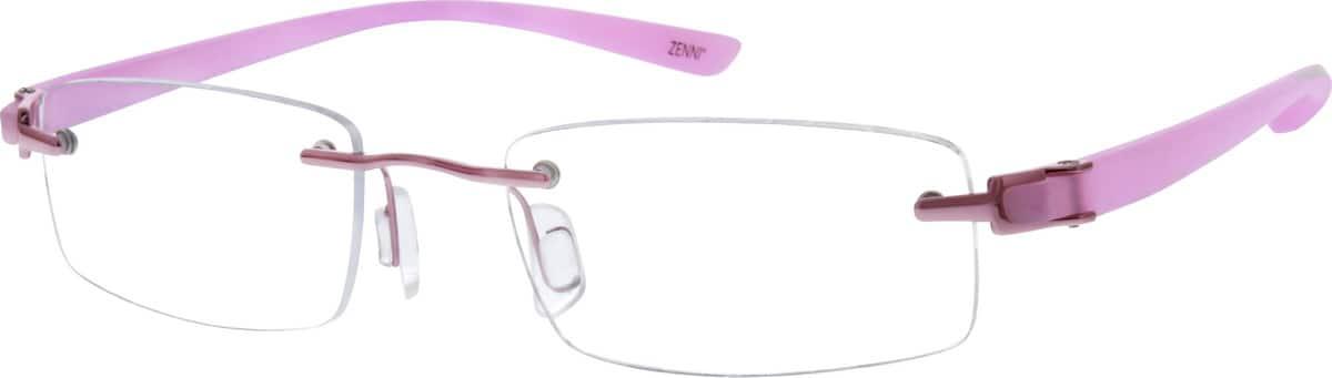 WomenRimlessMixed MaterialsEyeglasses #143319