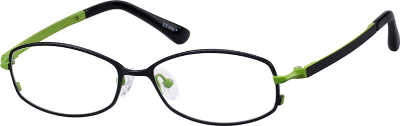 womens-fullrim-mixed materials-oval-eyeglass-frames-143621