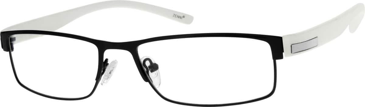 MenFull RimMixed MaterialsEyeglasses #144215