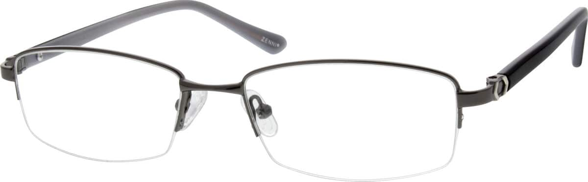 MenHalf RimMixed MaterialsEyeglasses #144812