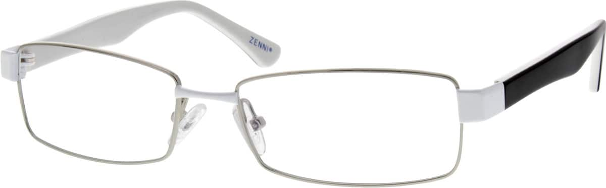 Men Full Rim Mixed Materials Eyeglasses #145011