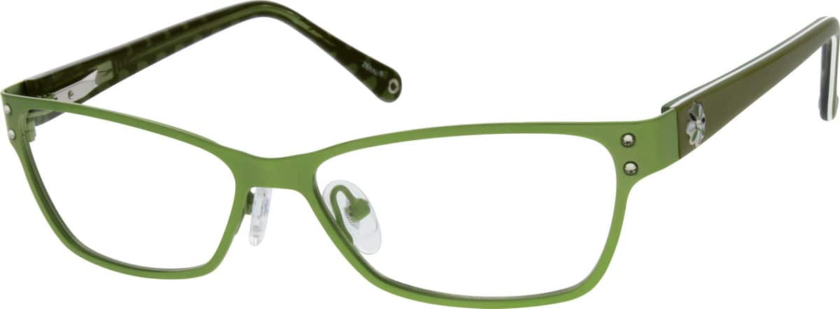 WomenFull RimMixed MaterialsEyeglasses #145218