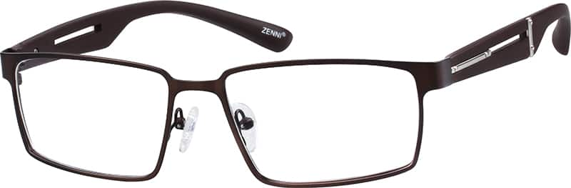 mens-full-rim-mixed materials-rectangle-eyeglass-frames-146615
