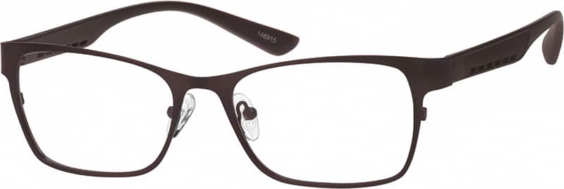Men Full Rim Mixed Materials Eyeglasses #146921