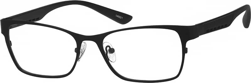 mens-full-rim-mixed materials-rectangle-eyeglass-frames-146921