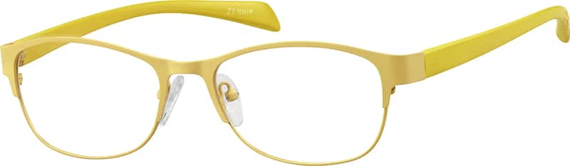 womens-full-rim-mixed materials-oval-eyeglass-frames-147022