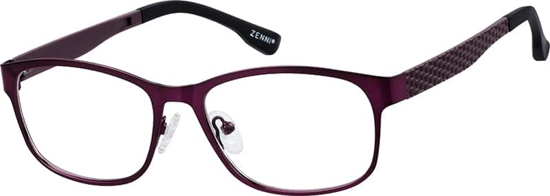womens-full-rim-mixed materials-rectangle-eyeglass-frames-147217