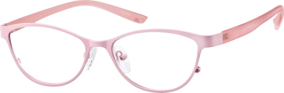 Women Full Rim Mixed Materials Eyeglasses #147319