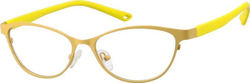 womens-full-rim-mixed materials-oval-eyeglass-frames-147322