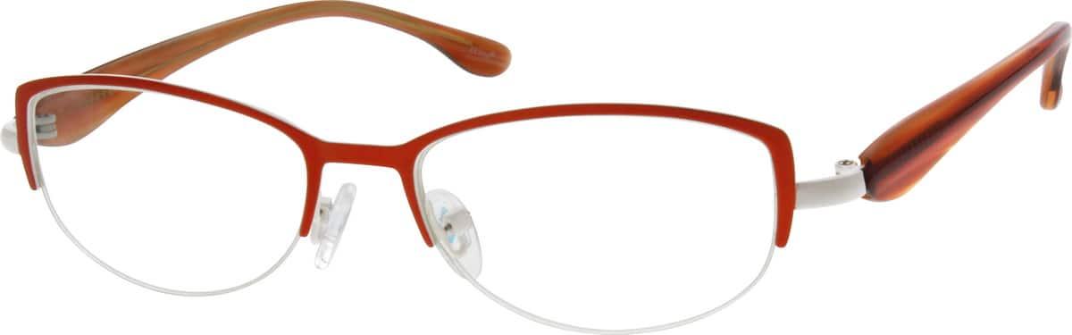 WomenHalf RimMixed MaterialsEyeglasses #147722