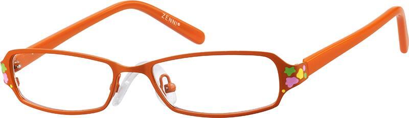 GirlFull RimMixed MaterialsEyeglasses #148524