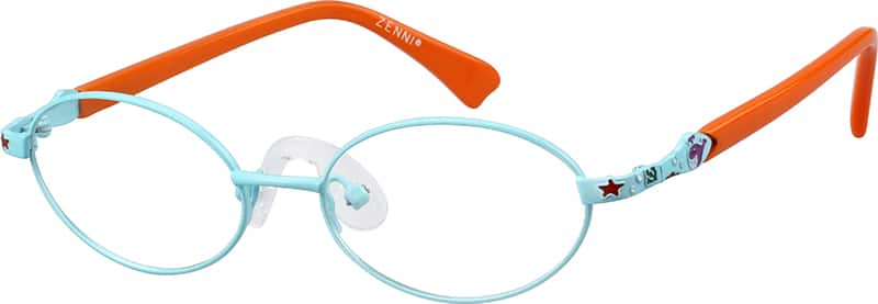 Children's Stainless Steel Full-Rim Frame