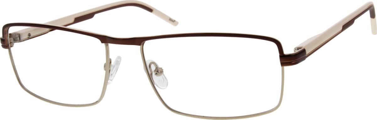 Men Full Rim Mixed Materials Eyeglasses #149221