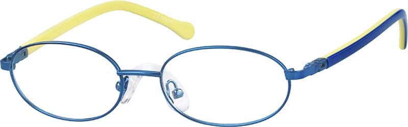 boys-full-rim-mixed materials-oval-eyeglass-frames-149716