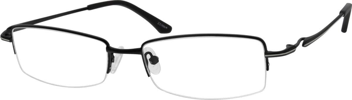 MenHalf RimMetalEyeglasses #150217