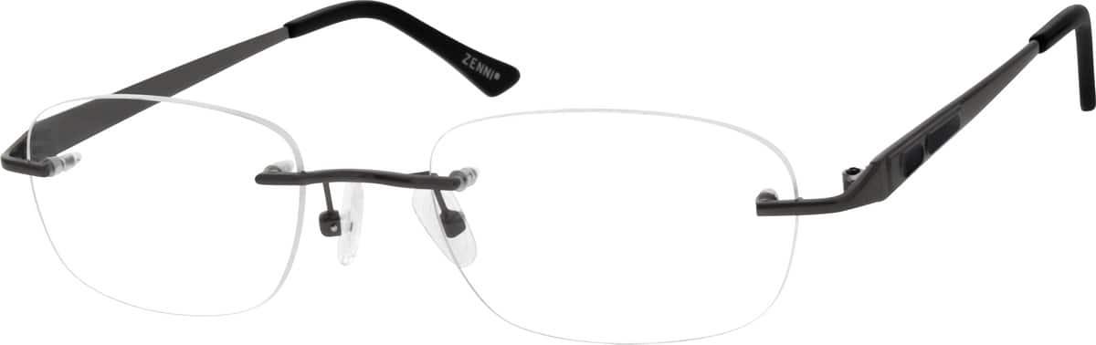 MenRimlessMetalEyeglasses #150412