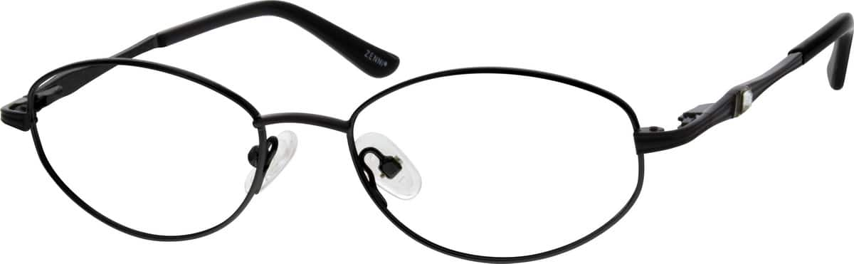 Women Full Rim Metal Eyeglasses #150614
