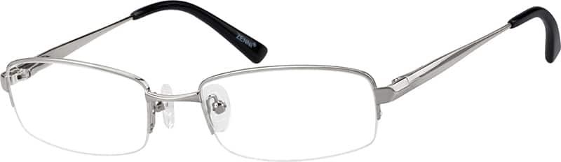 MenHalf RimMetalEyeglasses #150711