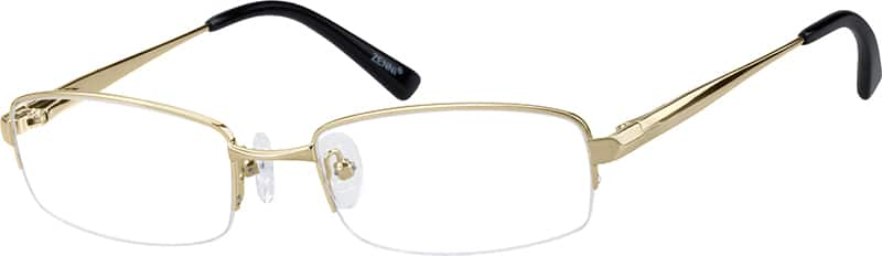mens-half-rim-metal-rectangle-eyeglass-frames-150714