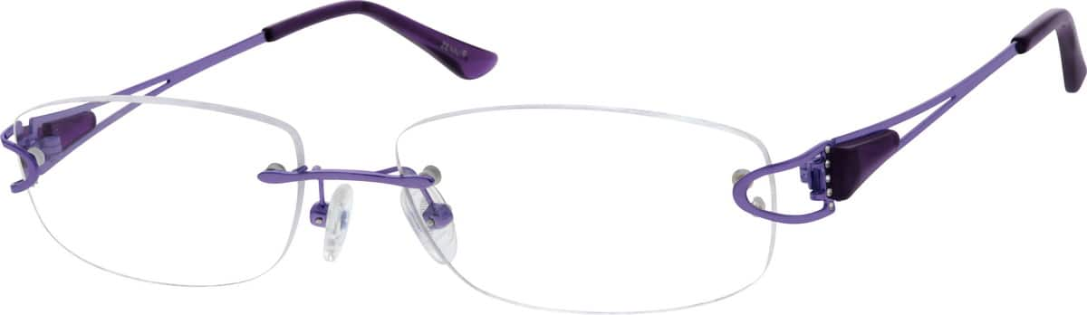 WomenRimlessMetalEyeglasses #150814
