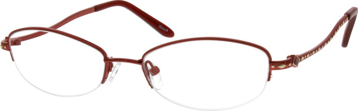 WomenHalf RimMetalEyeglasses #150921