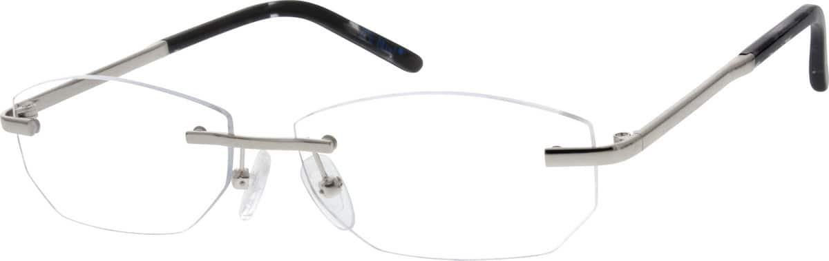 UnisexRimlessMetalEyeglasses #151211