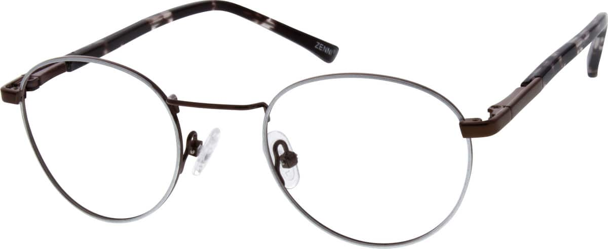 Unisex Full Rim Metal Eyeglasses #151314